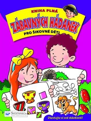 Kniha plná zábavných hádanek pro šikovné děti - -   Booksquad.ink