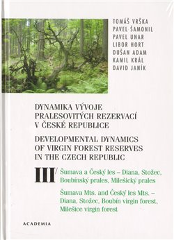 Obálka titulu Dynamika vývoje pralesovitých rezervací v České republice III.