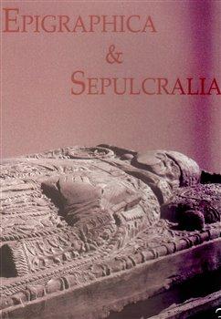 Obálka titulu Epigraphica et Sepulcralia 3