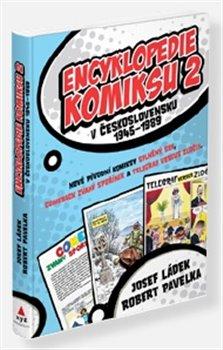 Obálka titulu Encyklopedie komiksu v Československu 1945–1989 2. díl
