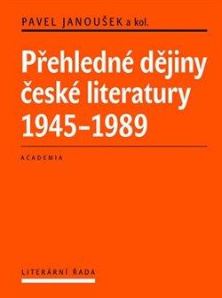 Obálka titulu Přehledné dějiny české literatury