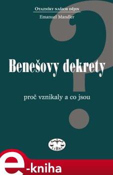 Obálka titulu Benešovy dekrety