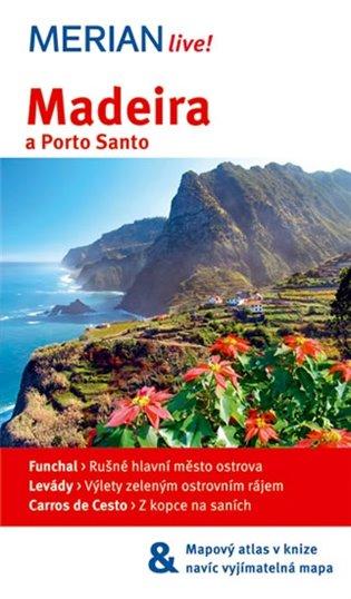Madeira a Porto Santo -Merian Live!:+ mapa - Beate Schümannová   Booksquad.ink