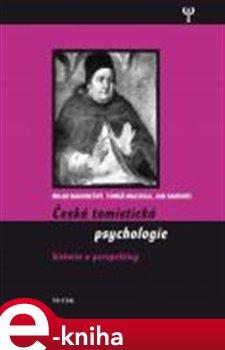 Obálka titulu Česká tomistická psychologie