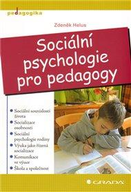 Sociální psychologie pro pedagogy