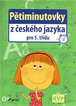 Obálka titulu Pětiminutovky z českého jazyka pro 5. třídu