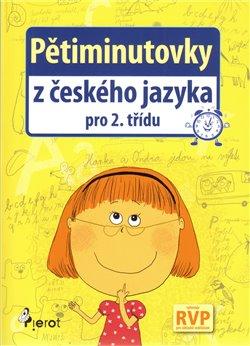 Obálka titulu Pětiminutovky z českého jazyka pro 2. třídu