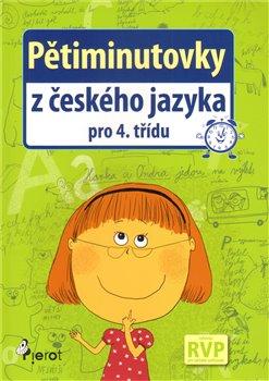 Obálka titulu Pětiminutovky z českého jazyka pro 4. třídu