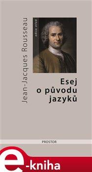 Obálka titulu Esej o původu jazyků, kde se hovoří o melodii a o hudebním napodobování