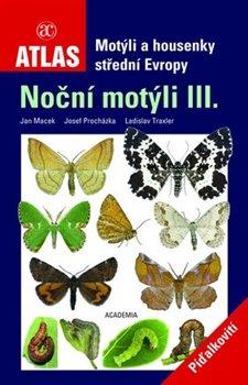 Obálka titulu Motýli a housenky střední Evropy III.