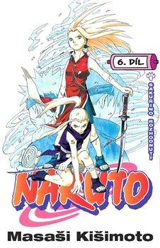 Obálka titulu Naruto 6: Sakuřino rozhodnutí
