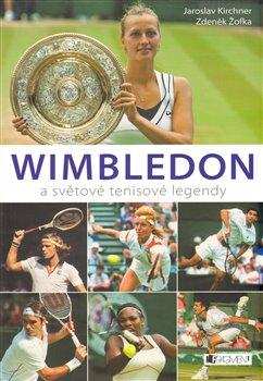 Obálka titulu Wimbledon a světové tenisové legendy