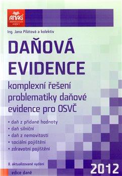 Obálka titulu Daňová evidence 2012