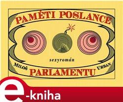 Obálka titulu Paměti poslance parlamentu