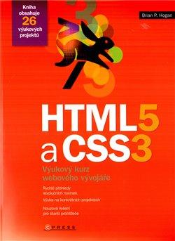 Obálka titulu HTML5 a CSS3