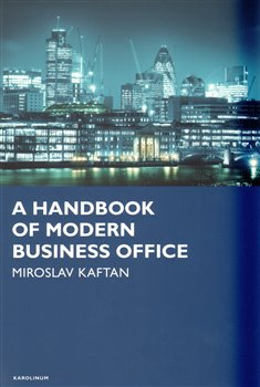 Obálka titulu A Handbook of modern business office
