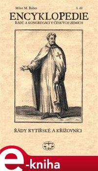 Obálka titulu Encyklopedie řádů /I./ a kongregací v čes. zemích