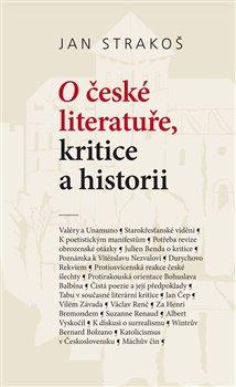 Obálka titulu O české literatuře, kritice a historii