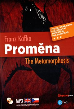 Obálka titulu Proměna / The Metamorphosis