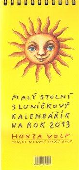 Obálka titulu Malý stolní sluníčkový kalendářík na rok 2013
