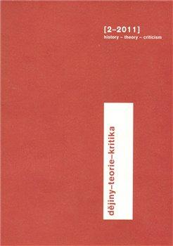 Obálka titulu Dějiny-teorie-kritika 2/2011