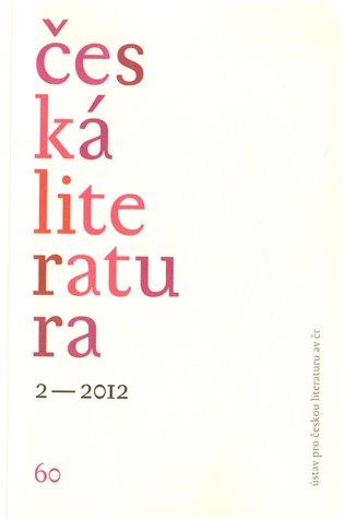 Česká literatura 2/2012 - - | Booksquad.ink