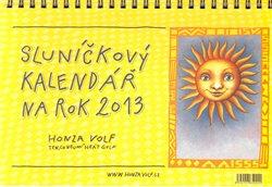 Obálka titulu Sluníčkový kalendář 2013 - stolní