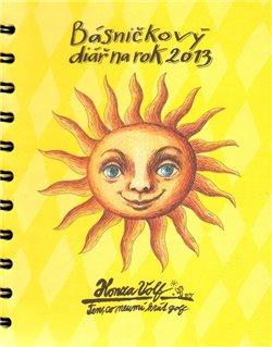 Obálka titulu Básničkový diář na rok 2013
