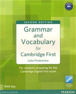 Obálka titulu Grammar and Vocabulary for Cambridge First