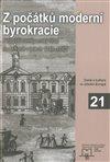 Obálka knihy Z počátků moderní byrokracie
