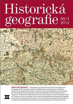 Obálka titulu Historická geografie 38/1