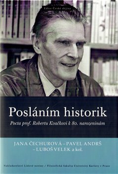 Obálka titulu Posláním historik