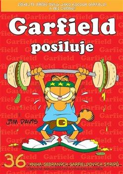 Obálka titulu Garfield posiluje