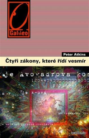 Čtyři zákony, které řídí vesmír - Peter Atkins | Booksquad.ink