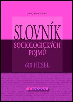 Obálka titulu Slovník sociologických pojmů