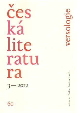 Česká literatura 3/2012 - - | Booksquad.ink
