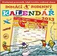 Obálka knihy Domácí rodinný kalendář 2013