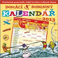 Domácí rodinný kalendář 2013