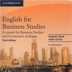 Obálka titulu English for Business Studies Audio 3rd edition