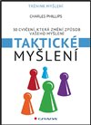 Obálka knihy Taktické myšlení