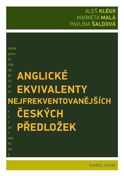 Obálka titulu Anglické ekvivalenty nejfrekventovanějších českých předložek