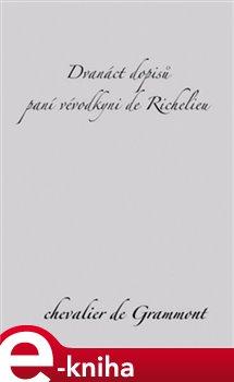 Obálka titulu Dvanáct dopisů paní vévodkyni de Richelieu