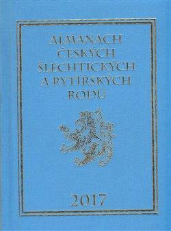 Obálka titulu Almanach českých šlechtických a rytířských rodů 2017