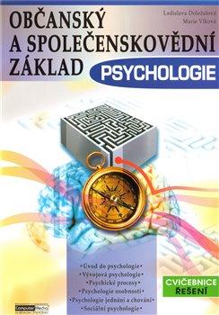 Obálka titulu Psychologie-Občanský a společenskovědní základ /cvičebnice řešení/