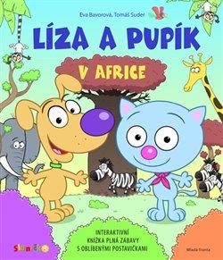 Obálka titulu Líza a Pupík v Africe