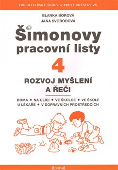 Obálka titulu Šimonovy pracovní listy 4