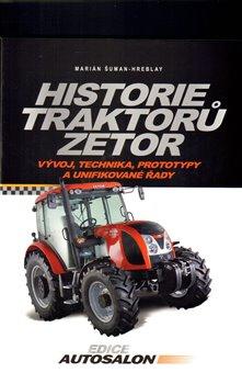 Obálka titulu Historie traktorů Zetor
