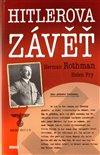 Obálka knihy Hitlerova závěť