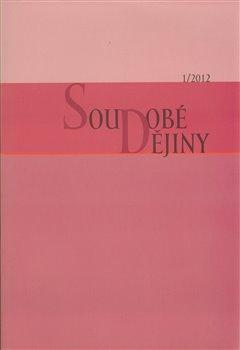 Obálka titulu Soudobé dějiny 1/2012