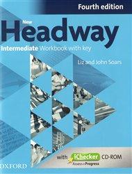 New Headway Intermediate Workbook With Key Fourth Edition + ichecker CR-ROM Pack